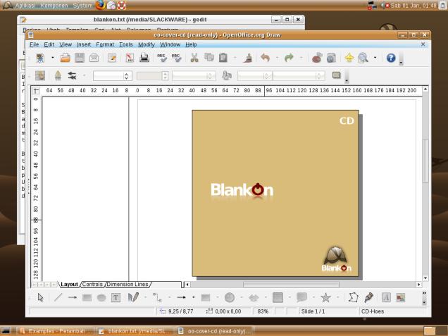 Screen Shoot Blankon 3
