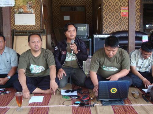 Mubes Komunitas Blogger Karawang 2011