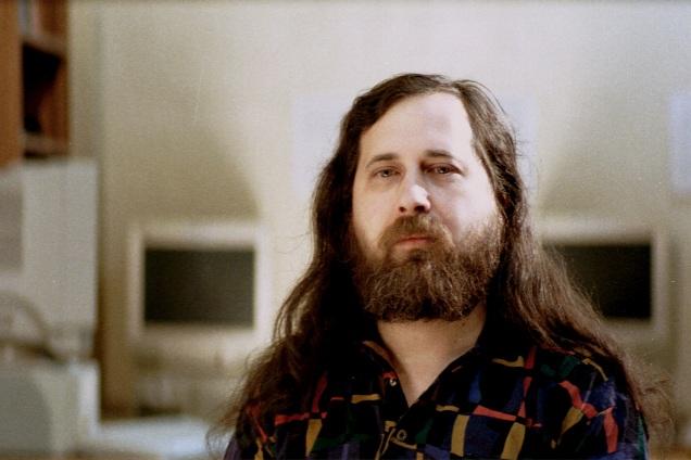 Foto Richard Stallman