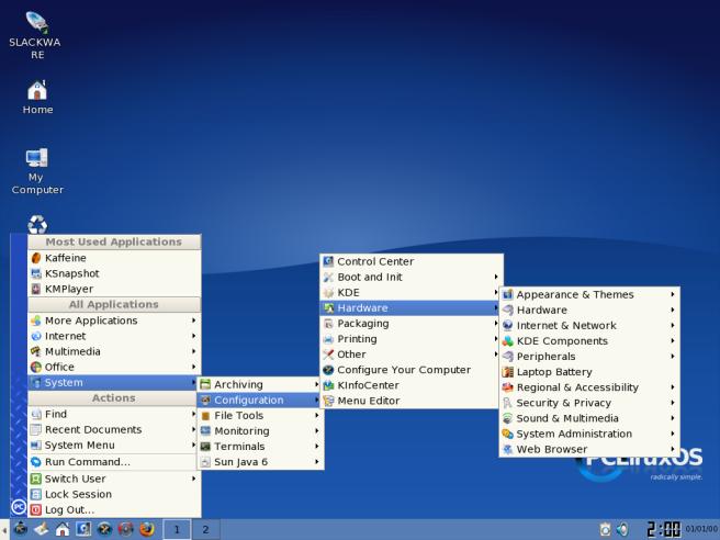 Aplikasi dalam PCLinuxOS