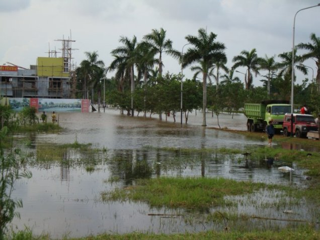 Banjir Karawang 25 Maret 2010 Perum Graha Karawang