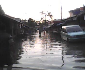 Kondisi Banjir Karawang