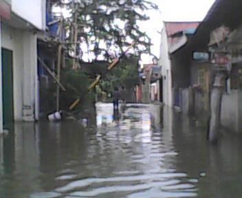 Banjir Karawang Maret 2010