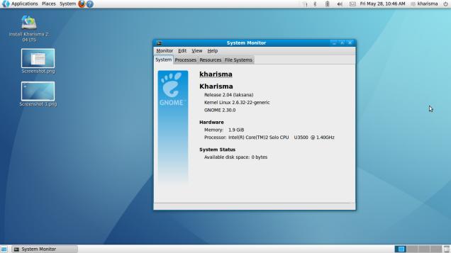 Distro Linux Kharisma