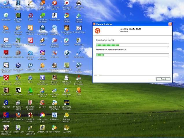 Wubi - Ubuntu Installer