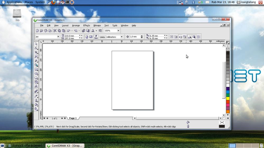 Menjalankan Aplikasi Photoshop CS 5 di Ubuntu (4/4)